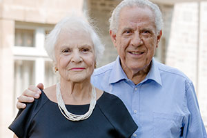 Mr. and Mrs. Obadia, residents and conversationalists