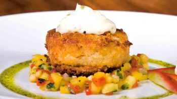 post-thumbnail - Chef's Recipe: Crab cake and fail-proof sauce gribiche