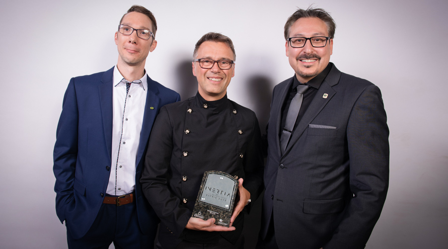 Le VÜ wins an award at the 2019 Estrie Recognition Gala
