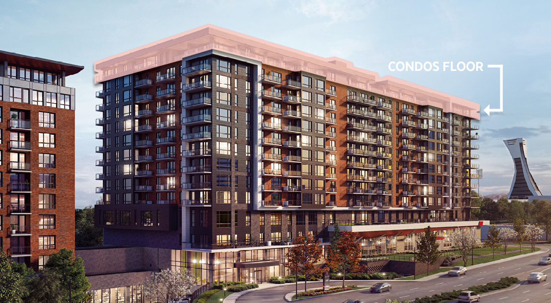 Construction-Bulletin Elogia Phase 2: several condos are still available! - Montreal - Le Groupe Maurice - Senior Residences