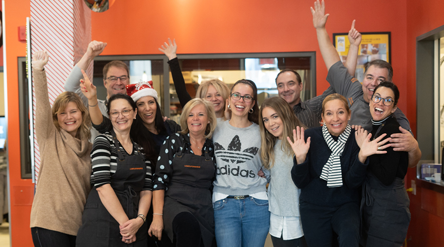 Pas de la rue and Le Groupe Maurice: Giving back to the community