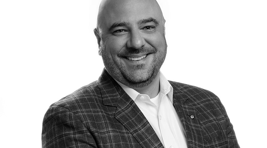 Francis Gagnon, new Vice-President of Real Estate Development