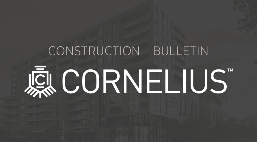 Construction-Bulletin Cornelius : 50% of work completed